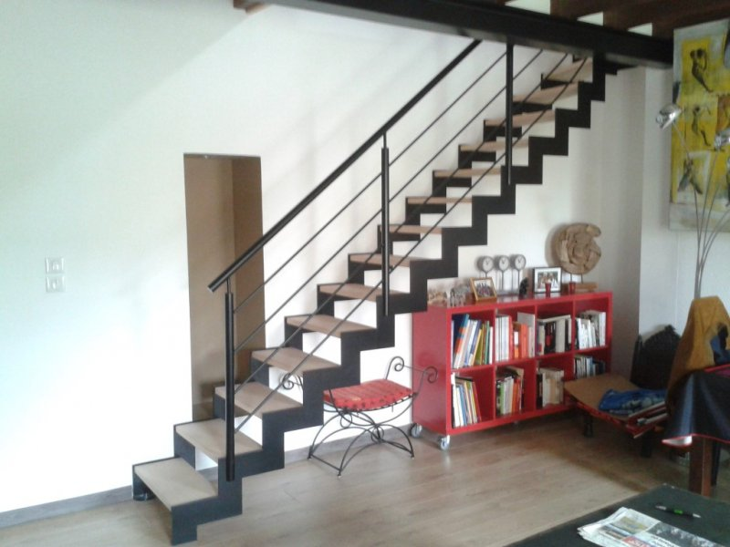 Escalier design contemporain moderne