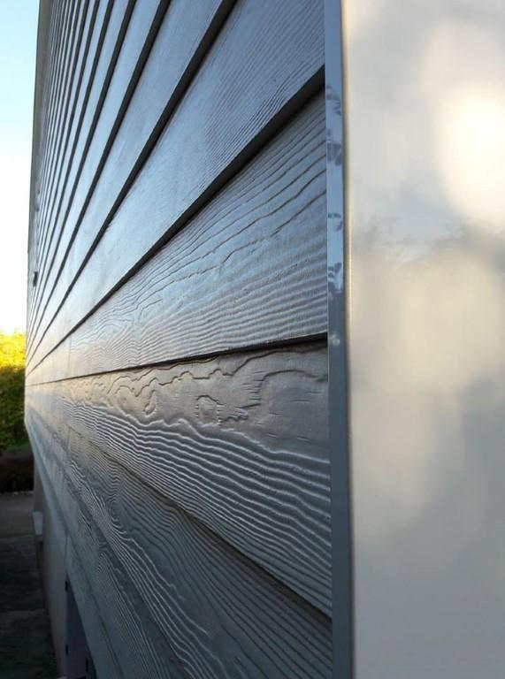 Bardage fibro ciment eternit fibrociment blanc bardage for Isolation exterieure bardage prix
